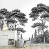 Panneau Pins et Cyprès 3 Ananbô