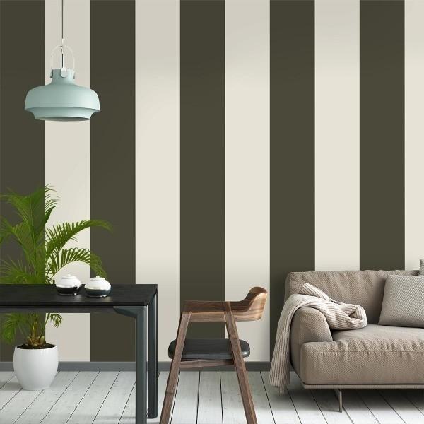 papier peint thick lines ferm living. Black Bedroom Furniture Sets. Home Design Ideas