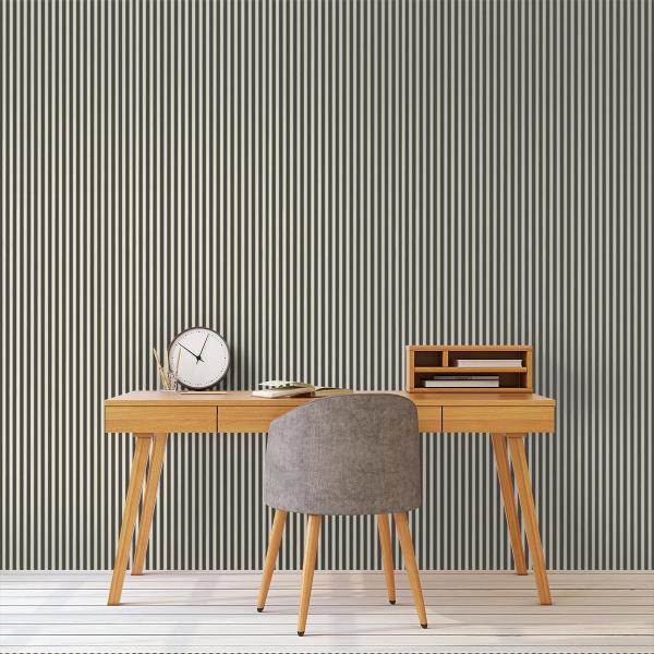 papier peint thin lines ferm living. Black Bedroom Furniture Sets. Home Design Ideas