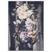 Plaid Delft Flower Noir Noir Designers Guild