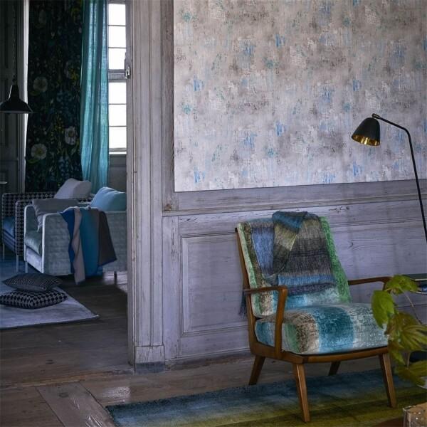 papier peint impasto designers guild. Black Bedroom Furniture Sets. Home Design Ideas