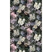 Papier Peint Delft Flower Grande Graphite Designers Guild