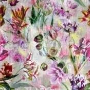 Panneau Tulipa Stellata Fuchsia Designers Guild