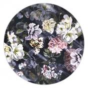 Tapis Delft Flower Noir 250x250 cm Designers Guild