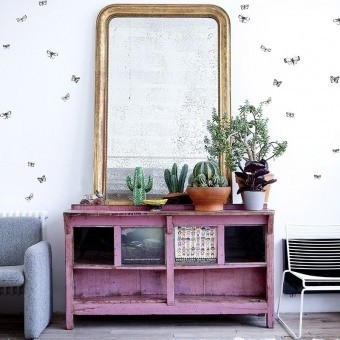 The Wild Butterfly Panel 180x280 cm - 3 lés Bien Fait