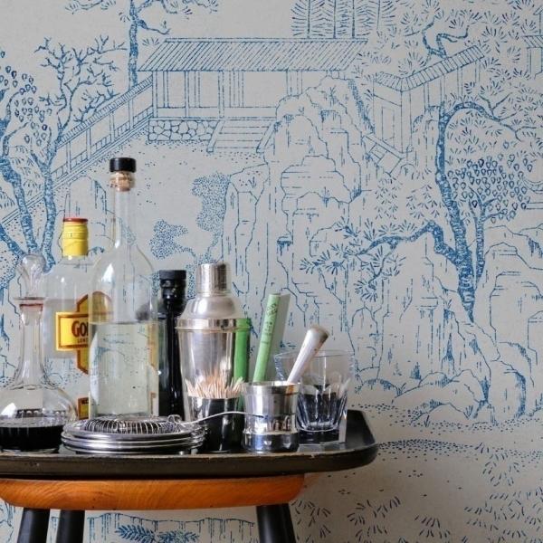 papier peint coromandel bien fait. Black Bedroom Furniture Sets. Home Design Ideas