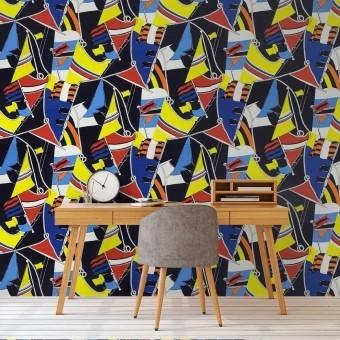 Schooner Novelty Fabric Marina Ralph Lauren
