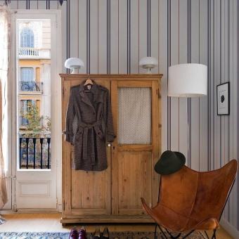 Rayure Wallpaper Cozy Coordonné