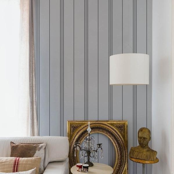 papier peint rayure coordonn. Black Bedroom Furniture Sets. Home Design Ideas