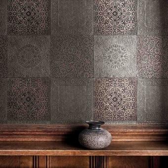 Bazaar Wallpaper Bronze Cole and Son
