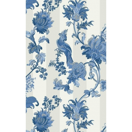 Papier peint Zerzura Cole and Son China Blue 113/8022 Cole and Son