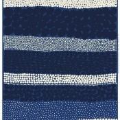Tissu Jurmo Blue/White/Dark Blue Marimekko