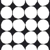 Tissu Kivet Black/White Marimekko