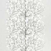 Satin Lumimarja White/Silver/Ecru Marimekko
