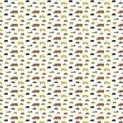Tissu Pikku Boboo White/Multicolor Marimekko