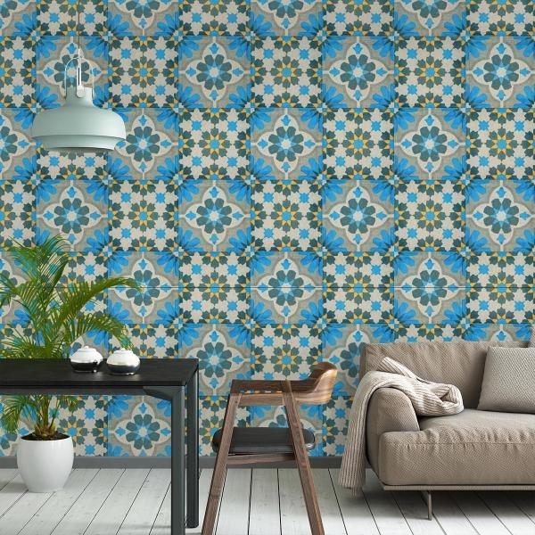 Mosaïque Wallpaper - Curious Collections