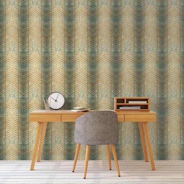 papier peint ecailles curious collection. Black Bedroom Furniture Sets. Home Design Ideas
