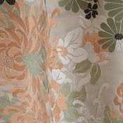 Tissu Kyoto Taupe Jean Paul Gaultier