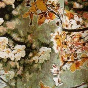 Tissu Sakura Naturel  Jean Paul Gaultier