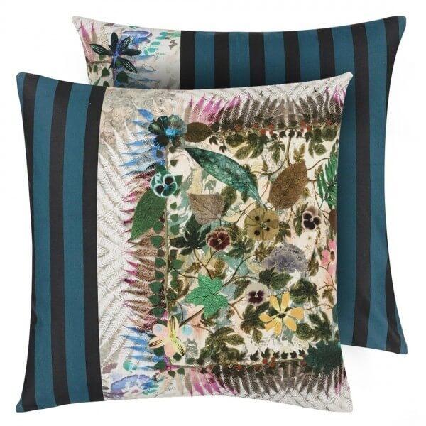 coussin herbier jonc christian lacroix. Black Bedroom Furniture Sets. Home Design Ideas