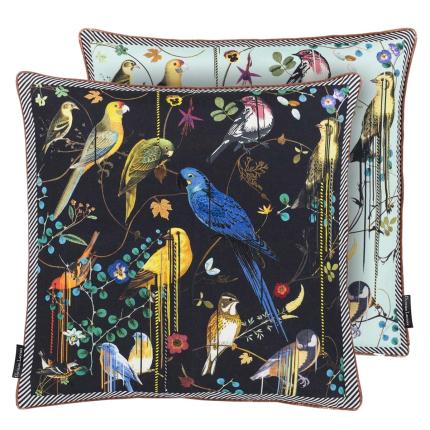 Coussin Birds Sinfonia Crepuscule Christian Lacroix Multicolore CCCL0531 Christian Lacroix