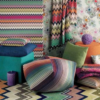 Eucla Outdoor Fabric Antracite Missoni Home