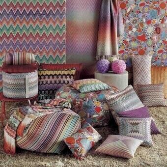 Jarris Fabric Beige Multicolor Missoni Home