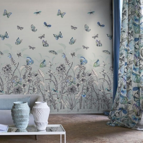 Papillons Wallpaper Designers Guild