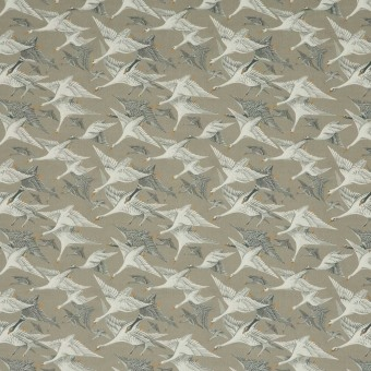 Velours Wild Geese Goose Grey Mulberry