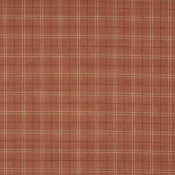 Tissu Haddon Check Woodsmoke Mulberry