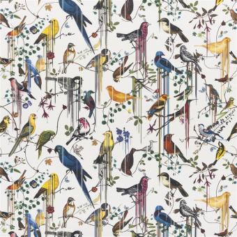 Birds Sinfonia Fabric Crépuscule Christian Lacroix