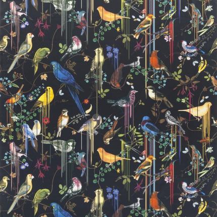 Tissu Birds Sinfonia Christian Lacroix  Crepuscule FCL7024/02 Christian Lacroix