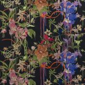 Tissu Orchids Fantasia Craft  Crepuscule Christian Lacroix