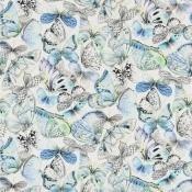 Tissu Papillons Cobalt Designers Guild