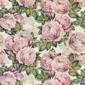 Tissu The Rose  Sepia John Derian by Designers Guild