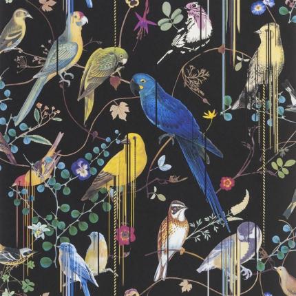 Papier Peint Birds Sinfonia Christian Lacroix Crépuscule PCL7017/01 Christian Lacroix