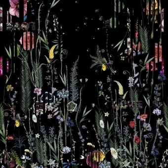 Babylonia Nights Panoramic Wallpaper Crépuscule Christian Lacroix