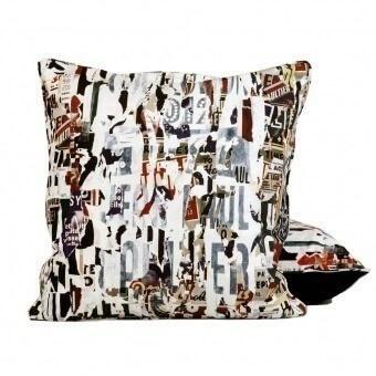 Souvenirs Cushion Multico Jean Paul Gaultier