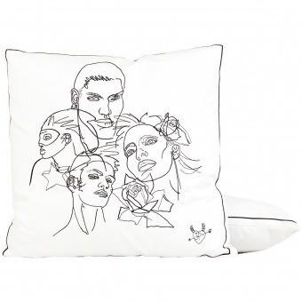 Amities Cushion Acier Jean Paul Gaultier