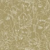 Papier peint Gouache Nude Jean Paul Gaultier