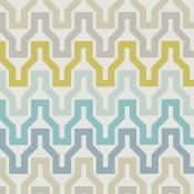 Papier peint Sioux Charcoal/Cinnamon/Slate Scion