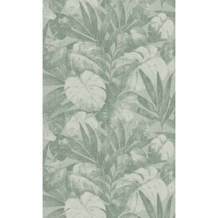 Revêtement mural Expédition Flamant Vert de feuille 80080 Flamant