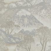 Papier peint Edo Ivory/Silver GP & J Baker
