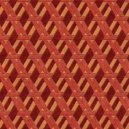 Tissu Welbeck GP & J Baker Red/Orange BF10516_4 GP & J Baker