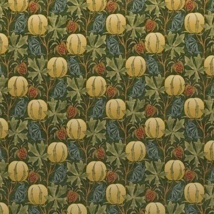 Velours Pumpkins GP & J Baker Green/Terracotta BP10625_1 GP & J Baker
