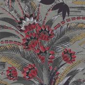 Revêtement mural Decorata Gris/Rouge Arte