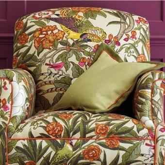 Tissu Imperial Pheasant Vintage/Multi GP & J Baker