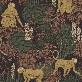 Langur Wall covering Gris Arte