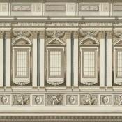 Papier peint Vaticano Brown/Taupe Mindthegap
