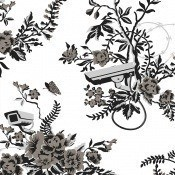 Revêtement mural Vigilant Floral Pyro Arte